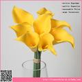 Barato por atacado simulação de callas, casamento flor artificial arranjo