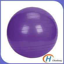 Cheap pvc exercise gym anti burst gym ball supplier