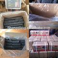 hongqiang grado di qualità esagonale carbone bricchette segatura di legno