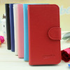 Factory Price !!! Small MOQ Wholesale Leather Flip Cases Coverfor Iphone 5C