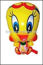 Festive decorate cartoon helium foil balloon animal