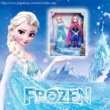 2014 American Hot Sale 11 Inch Frozen Anna&Frozen Elsa Doll