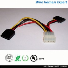auto 2014 newest molex and jst connector wiring harness