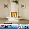 China Good Sales Marble Wood Burning Stove Fireplace for Christmas Fireplace
