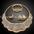 paquistaníes 18k oro juegos de joyas hechas en china