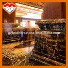 2014 good sell polished Afghanistan Portoro marble