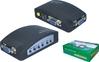 FY1302 AV to VGA CCTV adapter monitor box; av converter to vga