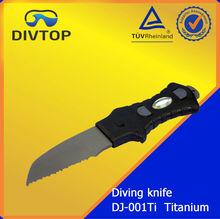 titanium diving knife cuchillo de buceo titanio