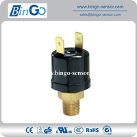 Multi-medium pressure switch for water, air, oil pressure control