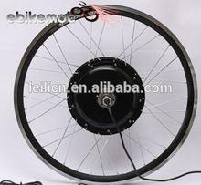 High power 1.5kw electric bike motor bike conversion kits