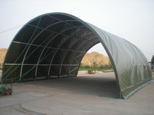 Long Lifespan Economical Semicircle Portable Container Shelter
