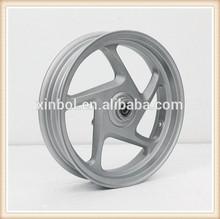 Motorcycle wheel, 12 inch motorcycle aluminum alloy wheel rim, scooter wheel