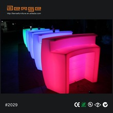 Led illuminated furniture for LED bar counter