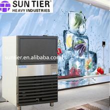 vendita calda sabbiatura ghiaccio secco e chiller per la pista cubo di ghiaccio che fa macchina