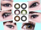 large diameter big eye powerless contact lens