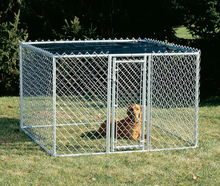 High Quality Beautiful Power Coated Galvanized Dog Kennel