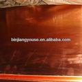 De alta purificar la placa de cobre 0.5mm