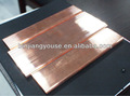 Barra de cobre/tijolo/barramento/haste de aterramento fabricante china preço por kg