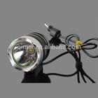 Back to School Promotion! Aluminium Alloy White LED Bicycle Front Light/safty Bike Light/led Headlight