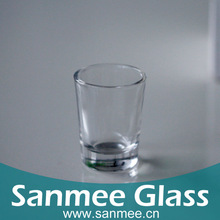 Machine Pressed Glass Shot Cups Wholesale