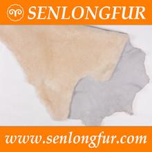 tanned pattern of natural sheepskin shoe liner