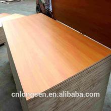 cheap blockboard supply pine or poplar core furniture grade Melamine beech veneer Blockboard