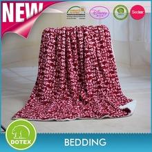 BSCI SEDEX Disney Audited manufacturer super soft sherpa blanket fleece printed blanket