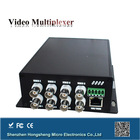 Made in China 8 ports voice fiber multiplexer with rs 422 data