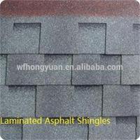 construction material- laminated asphalt roof shingles