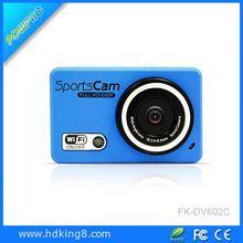 2014 New wifi digital video camera in 120 degree wide angle waterproof camera
