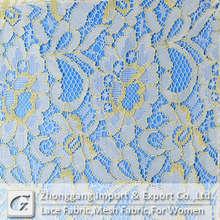 Jacquard lace for garment