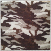 anti pilling Camouflage micro polar fleece fabric for military uniform
