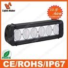 LML-D4060 auto parts 60w 10.9'' led light bar rgb for motorcycle, off-road front light , RV,ATV, SUV,UTV,MPVcar bumper light bar