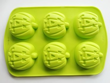 Silicone pumpkin Halloween Cake Candy pastry Biscuits Ice Mold Jelly Baking pan pumpkin shape silicone mold