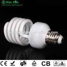 23 WATT TINY TWIST SPIRAL CFL/COMPACT FLUORESCENT LIGHT BULB
