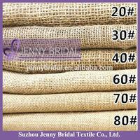 BPL006 burlap table runner jute table cloth hessian fabric