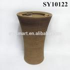 special wooden design garden flower pot