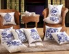 New design cushion cover for Chinese style embroidery cushion cover fashion cushion cover for blue and white porcelain