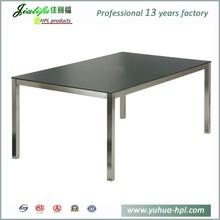 JIALIFU hot sale cheap hpl Italian extendable dining table
