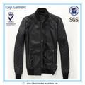 direto da fábrica couro coréia estilo cinza escuro 2014 mens casaco da moda