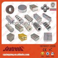 Strong N35,N38,N40,N42,N45,N48,N50,N52 Ring, Round, Block, Ball, Cylinder Permanent Rare Earth N52 Neodymium Magnet
