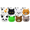 animal shaped coin purse cartoon bag 2d on stock mixed wholesale