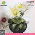 atractivo artificial de plantas con flores para decorting
