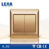 15 years warranty The ultra-slim steel plate electric wall switch