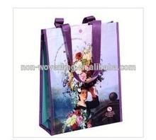 2014 Alibaba Fashion High Quality Laminated Promotional PP Woven Bag Woman Handbag