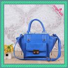 2014 latest design trendy ladies handbags girl tote handbags with customized logo