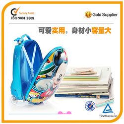 abs+pc kid's trolley luggage/kids school backpack/ children backpack bag