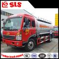 Aço carbono 8000l capacidade faw caminhão tanque de combustível, bowser de combustível do caminhão, tanque de combustível do caminhão dimensões