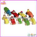 Baratos do carro de brinquedo, mini cores diferentes de madeira do carro( wj276311)