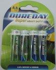 zinc carbon dry battery 1.5v R6P UM-3 AA MIGNON